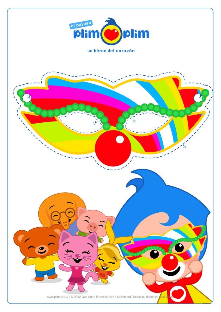 ¡Siempre es mágico festejar con amigos!  ¡En este Carnaval imprime y recorta tu propio antifaz! ¡CLARO QUE SI!