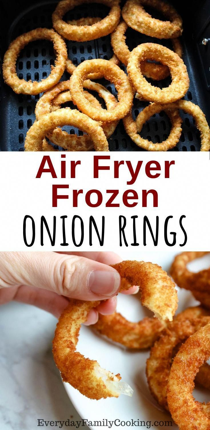 Air Fryer Frozen Onion Rings How to Get Crispy Delicious
