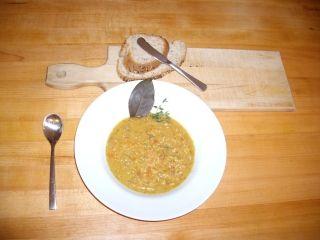 Soupe aux pois d'antan (mijoteuse) - Recettes du Québec