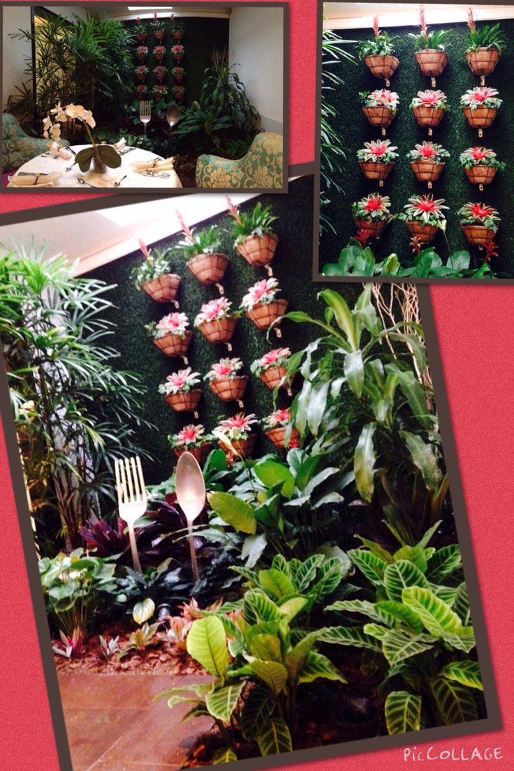 Hermosa ambientación, restaurante Avril, Cali, Colombia.