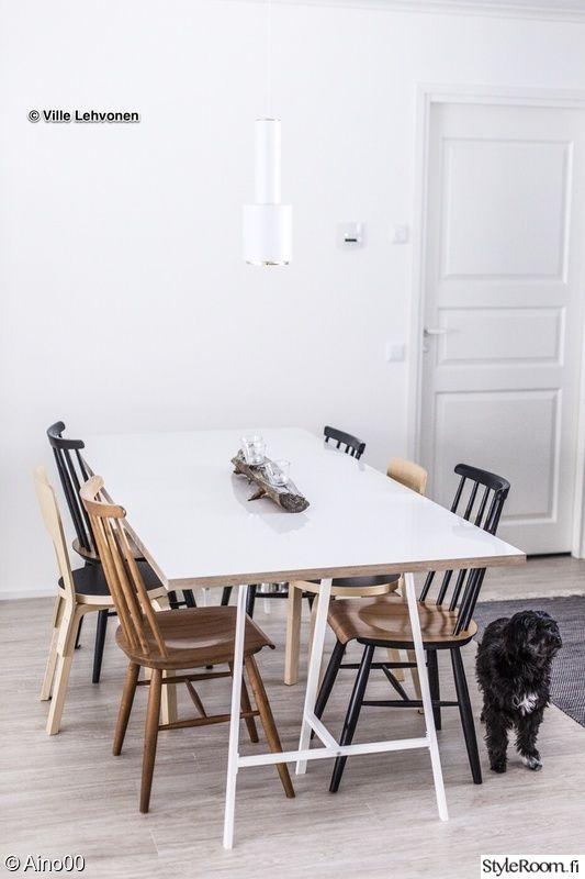 artek,diy pöytä,pinnatuoli,keittiö,ruokapöytä