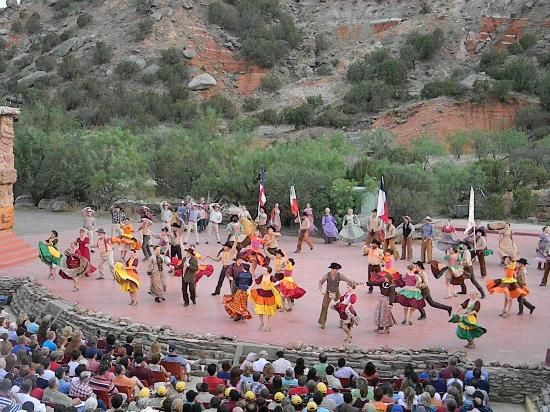 Possible road trip - Palo Duro, TX, outside of Amarillo.  TEXAS Outdoor Musical: TEXAS  Canyon, Palo Duro Canyon
