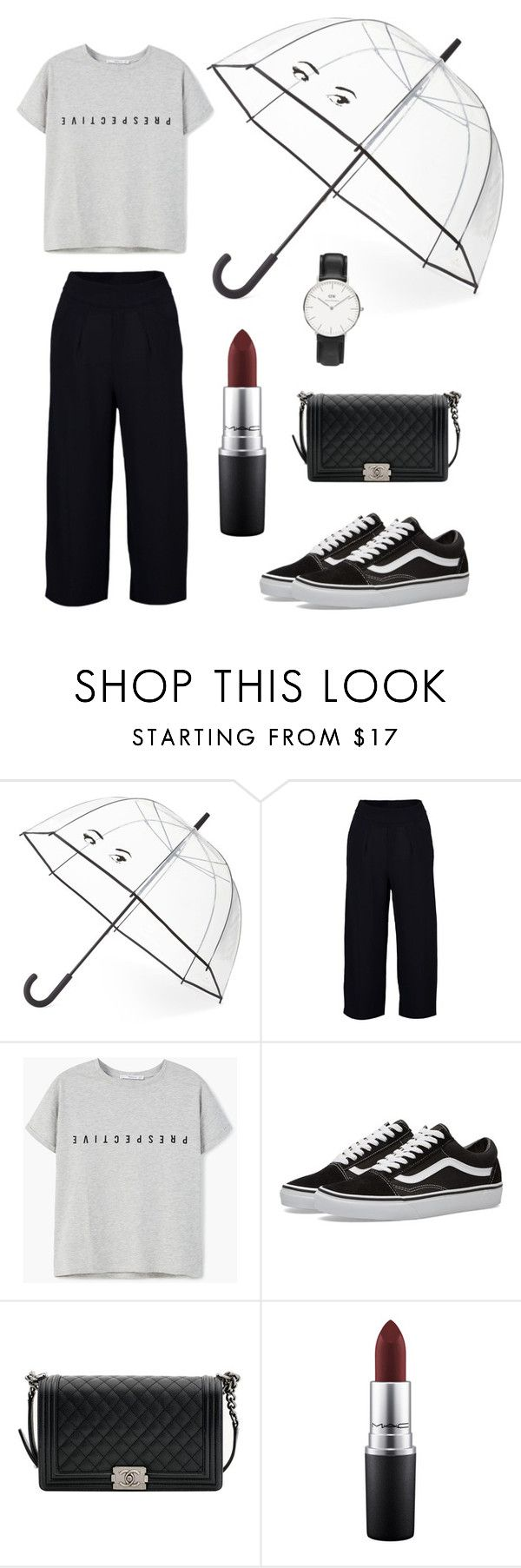 #outfit #chanel #boybag #vans #culottes #trend