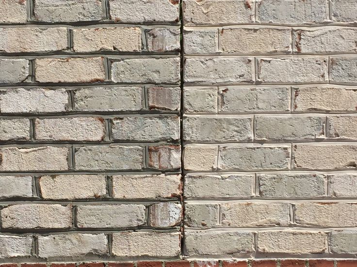 Mortar Color Gray : Ideas about gray brick houses on pinterest