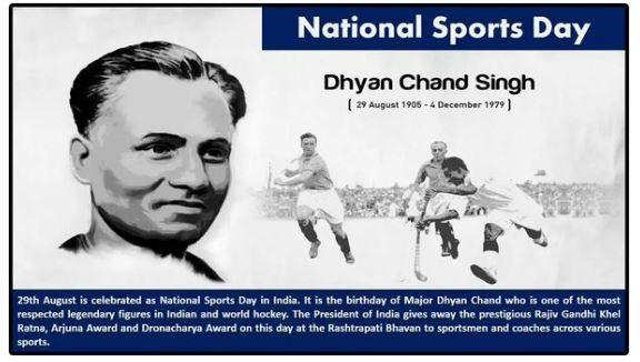 Happy National Sports Day to all Indians! #chennaiungalkaiyil. Know more #updates from http://www.chennaiungalkaiyil.com.