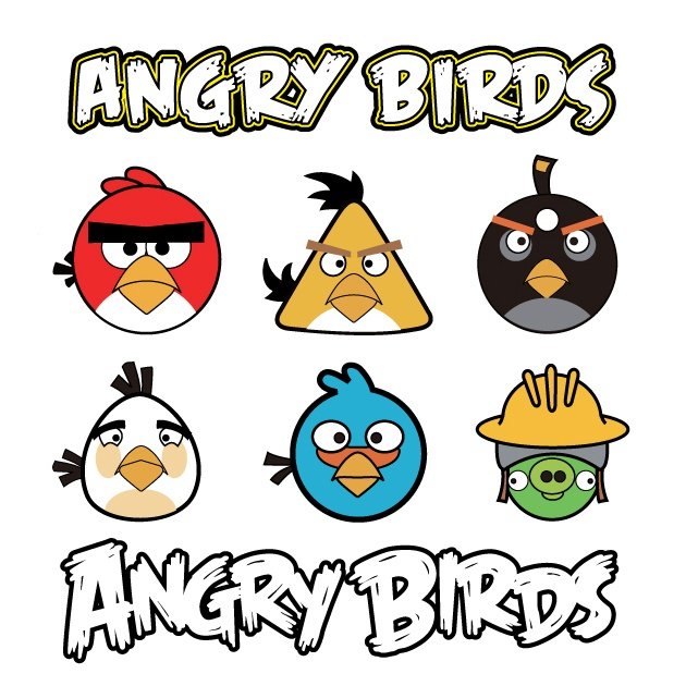 9 best Kid\'s Room images on Pinterest | Angry birds, Bird party and ...