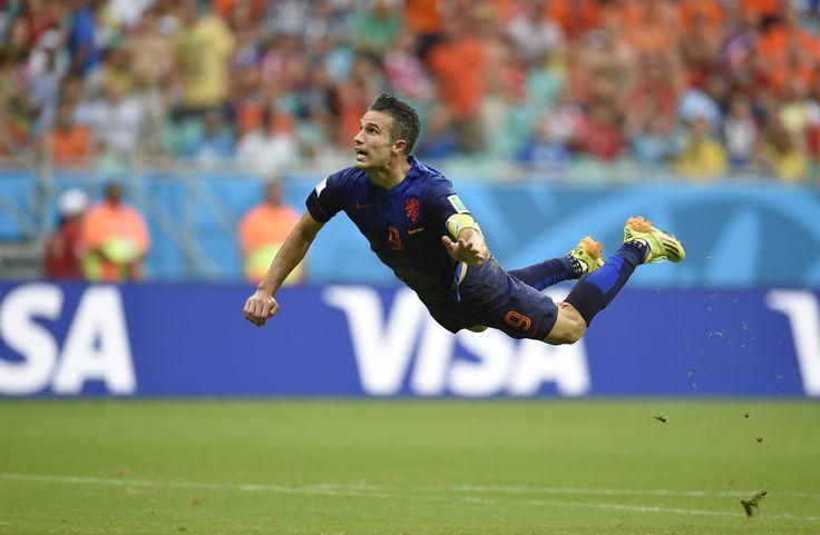 Plus beau but de la coupe du monde 2014. Espagne- Pays Bas #9ine @VanPersie