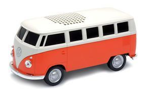 1963 VW T1 Bus Blue Tooth Speaker-Orange  #coolvwstuff #Volkswagen #VW #bus
