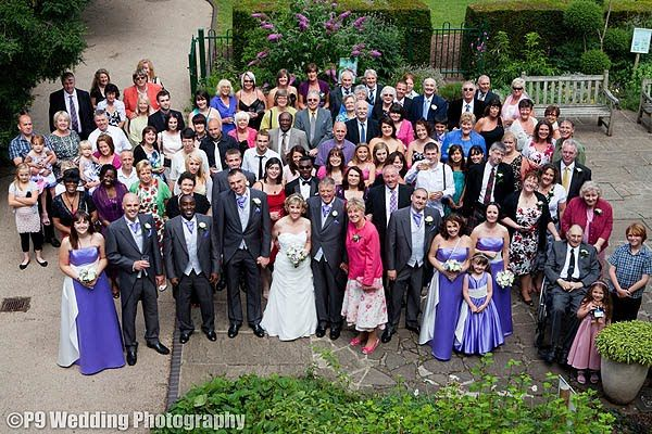P9 Photography: Wedding Photograph at Bristol Zoo Clifton Pavilion
