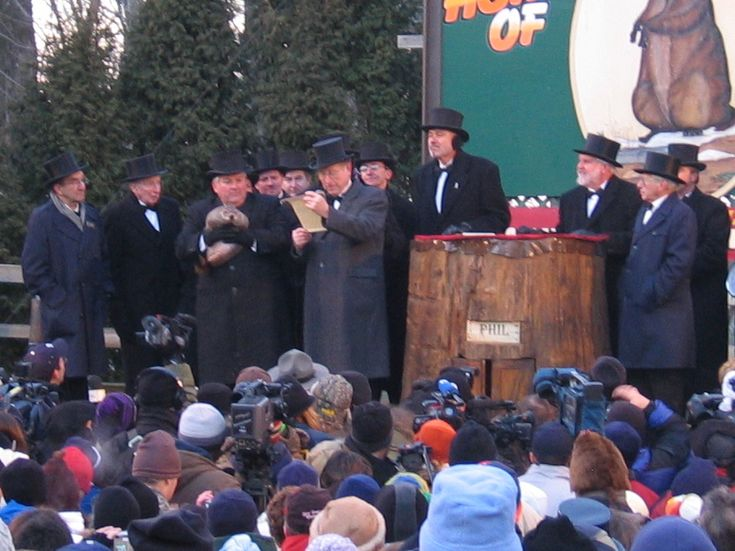 Punxsutawney Phil Sowerby is a groundhog resident of Gobbler's Knob, Punxsutawney, Pennsylvania, USA.