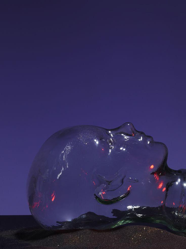 Glass head still life shot by Anna Pogossova on the Project Fond photoshoot.