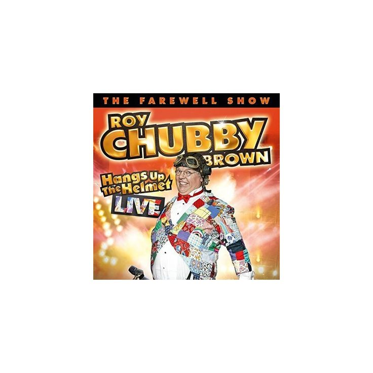 """Roy """"Chubby"""" Brown - Hangs Up the Helmet (CD)"""