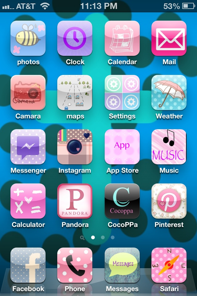 Customize iPhone app icons supper easy ( download cocoppa
