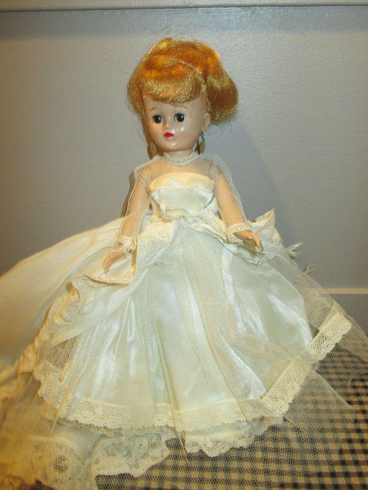 1957 Vogue Jill Doll In Her Wedding Ensemble Wedding
