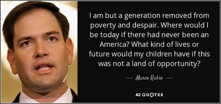TOP 25 QUOTES BY MARCO RUBIO (of 477) | A-Z Quotes