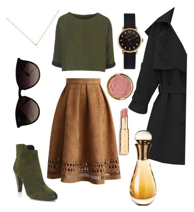 ✨ by gottabezayn on Polyvore featuring polyvore moda style Topshop Chicwish Elie Tahari Marc by Marc Jacobs Ray-Ban Milani Christian Dior fashion clothing
