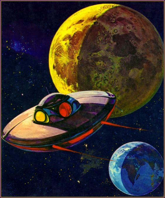 45 best Flying Saucers images on Pinterest | Flying saucer ...