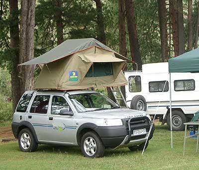 lr freelander 1 station tent opbouw 4x4. Black Bedroom Furniture Sets. Home Design Ideas