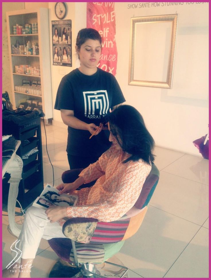 Nothing like getting pampered on a rainy day.  #Santè #TheSalon #Lahore #Pakistan