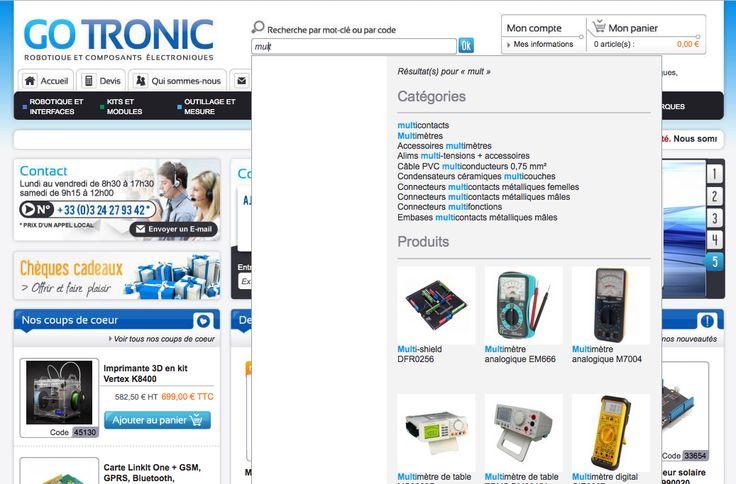 Gotronic a choisi le searchandising Antidot AFS@Store intégré à son site marchand par Arobases : http://www.gotronic.fr     Toute l'info sur AFS@Store : http://www.antidot.net/secteurs-et-donnees/e-commerce-afs-store/