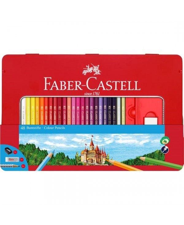 Faber-Castell Matite Colorate Confezione da 60