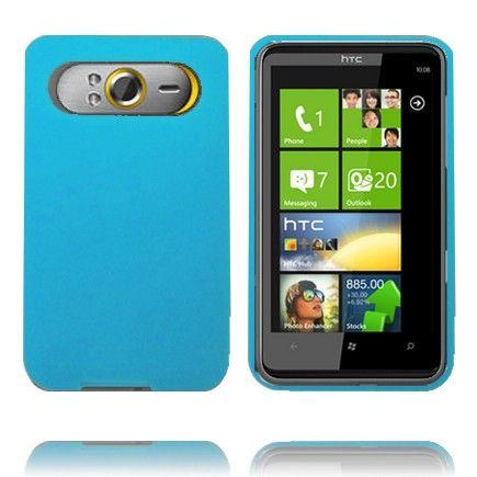 Soft Shell (Lyse Blå) HTC HD7 Deksel