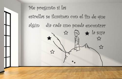 Le Petit Prince Wall Decal or Sticker