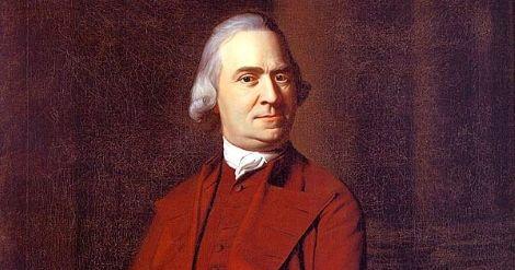 Samuel Adams – The Last Puritan Fights the American Revolution Twice - http://www.newenglandhistoricalsociety.com/samuel-adams-last-puritan-fights-american-revolution-twice/