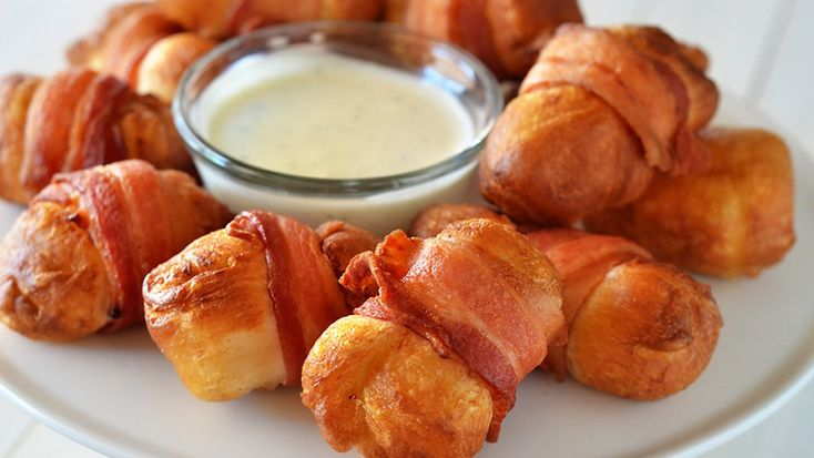 Pollo croccante al bacon con besciamella ai 4 formaggi - di Marianna Chillau #fuudly #ricette