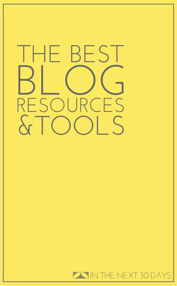 Blogging Day 31 | Best Blogging Resources and Tools