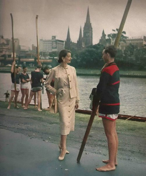 Laurence Le Guay-1956  Australia Olympic Games Editorial