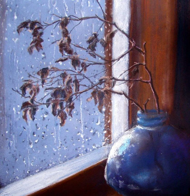 всего снег картина маслом за окном кладезь необходимых