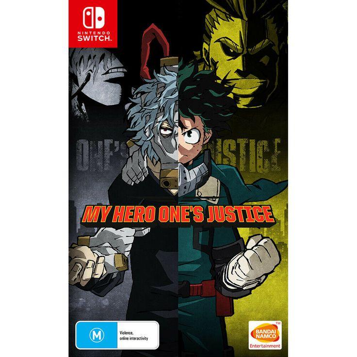 My hero ones justice nintendo switch ns manga anime arcade