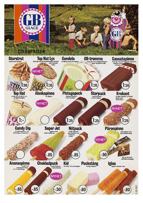 GB ice cream 1971