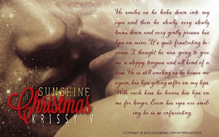 Sunshine At Christmas by Krissy V coming Nov 17 2015