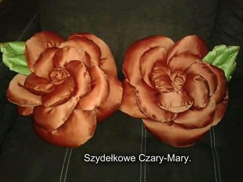 Poduszka # roza # kwiat