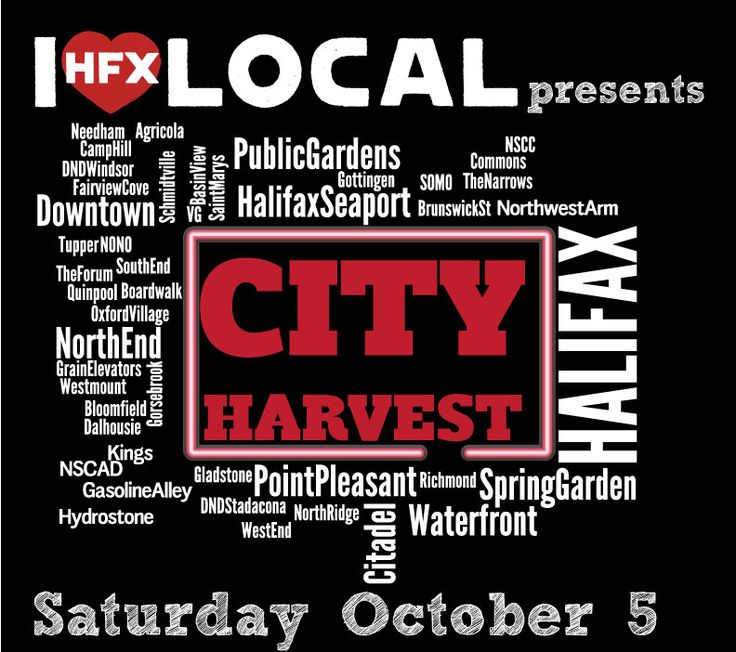 City Harvest (October 5, 2013) lets you explore and experience #Halifax while enjoying some very creative specials and discounts.  #novascotia