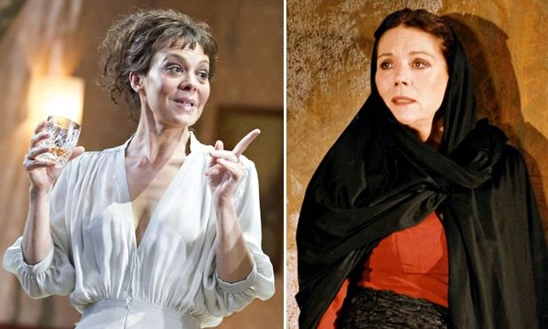 Mum's the word: Helen McCrory and Diana Rigg on playing Medea