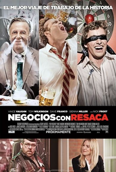 Póster de Negocios con resaca (Unfinished Business)