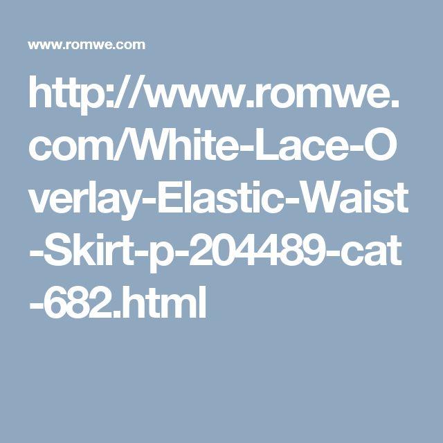 http://www.romwe.com/White-Lace-Overlay-Elastic-Waist-Skirt-p-204489-cat-682.html