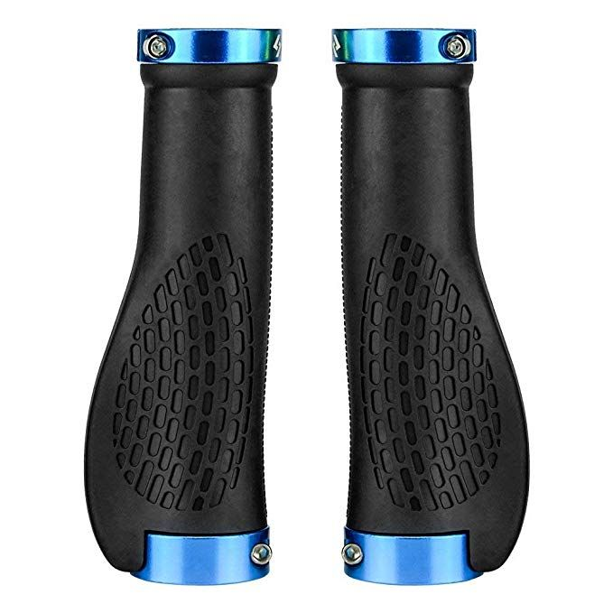 Saplize Bike Handlebar Grips Multi Colors Optional Ergonomic