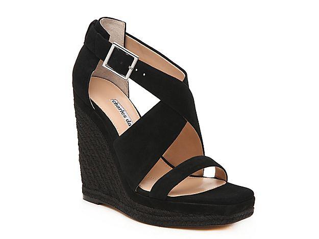 31280046ae8 Women Esper Espadrille Wedge Sandal -Black in 2019   Products ...