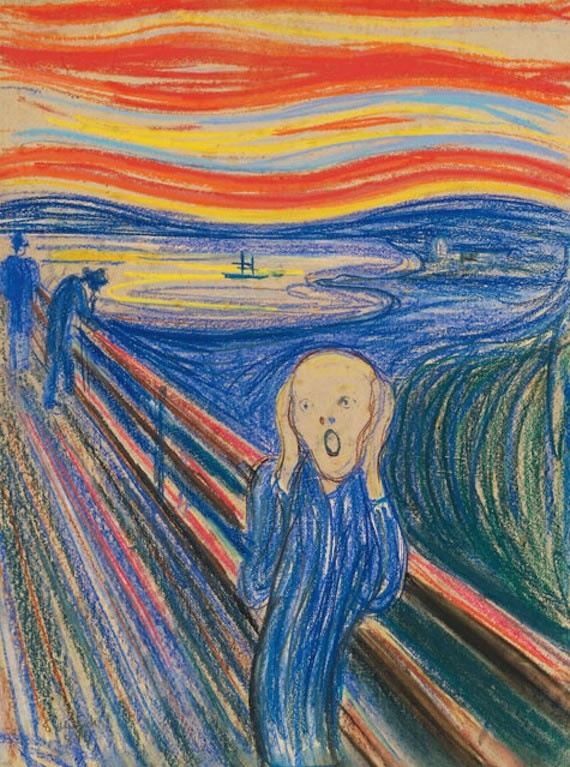 MoMA, New York   Edvard Munch: The Scream