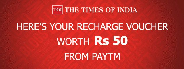 Freebie! Download The Times of India Mobile App & Get Free Rs 50 Mobile Recharge on Paytm  #Paytm #TimesOfIndia #TOI #Freebie #Shopping #India