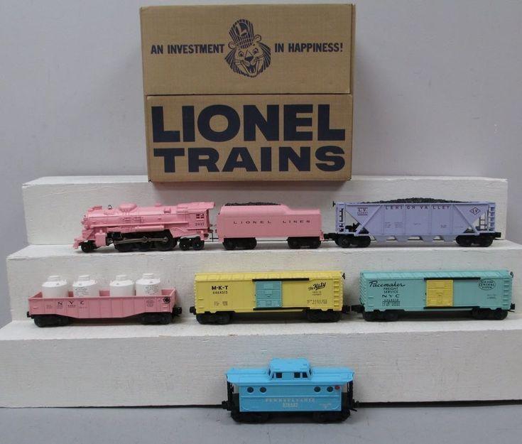 Lionel 6-38340 #1587 Girls Train Set #Lionel #lioneltrainsets