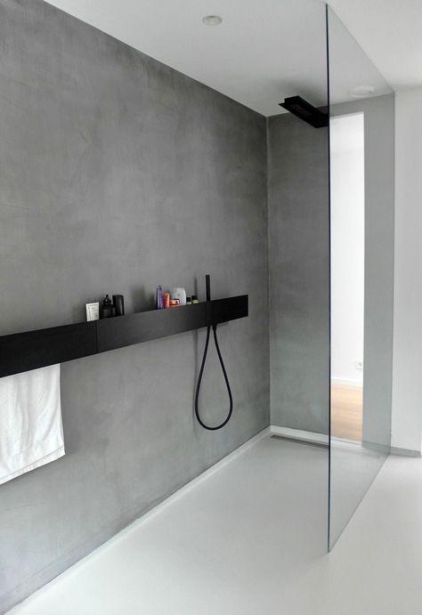 Van Hollandse Bodem - microcement bathroom