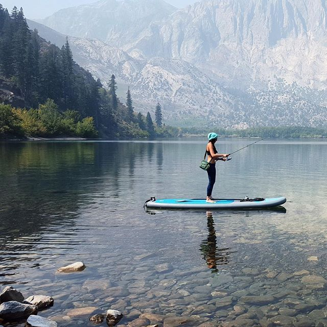 Retreat. Relax. Renew. We've got everything you need to get away from it all this summer. Check out our top picks for SUP, surf and yoga - link in bio. : @poppaddleboards at Convict Lake, CA