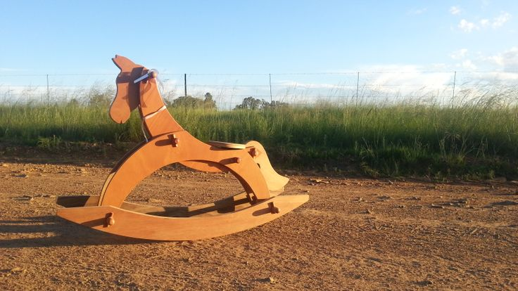 Rocking horse baught in Clarens.