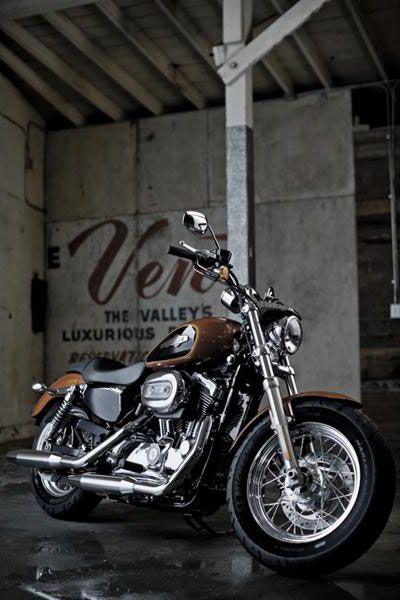 Harley-Davidson XL 1200 Customized, la nueva Sportster – [blog.espacioHarley.com]
