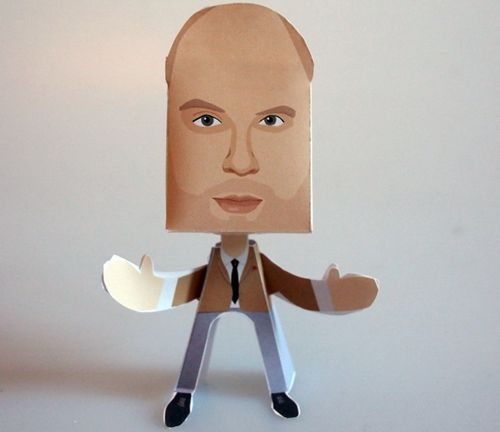 Tom Allen Paper People Free Paper Toy Download - http://www.papercraftsquare.com/tom-allen-paper-people-free-paper-toy-download.html#PaperPeople, #TomAllen